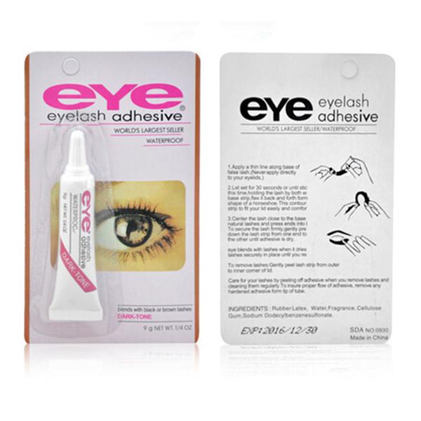 filles femmes authentique etanche colle faux cils yeux forte adh sif maquillage ebay. Black Bedroom Furniture Sets. Home Design Ideas