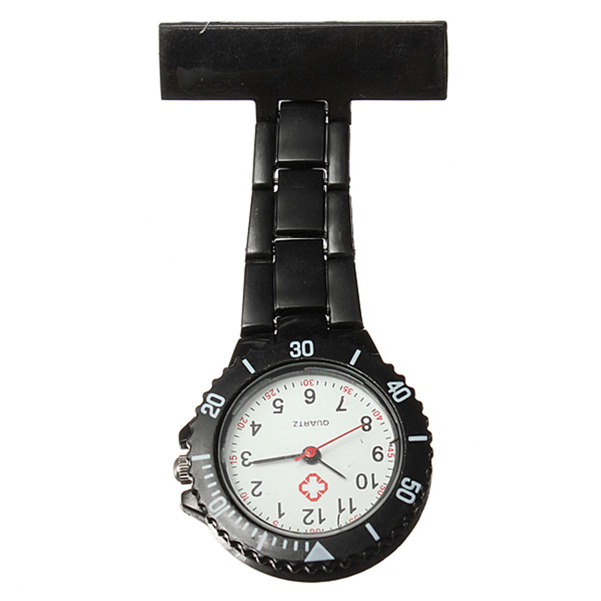 Fashion Multi Coloured Nurse Fob Uniform Brooch Quartz Hanging Watch 6 Styles