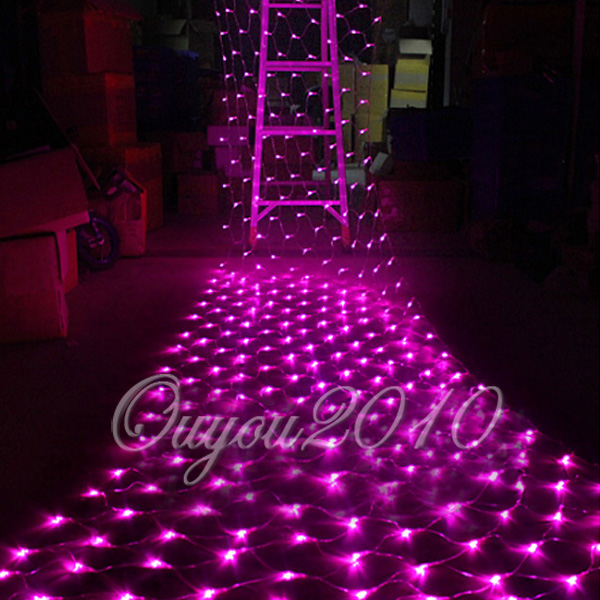 100 led lichterkette lichternetz leuchte innen au en party. Black Bedroom Furniture Sets. Home Design Ideas