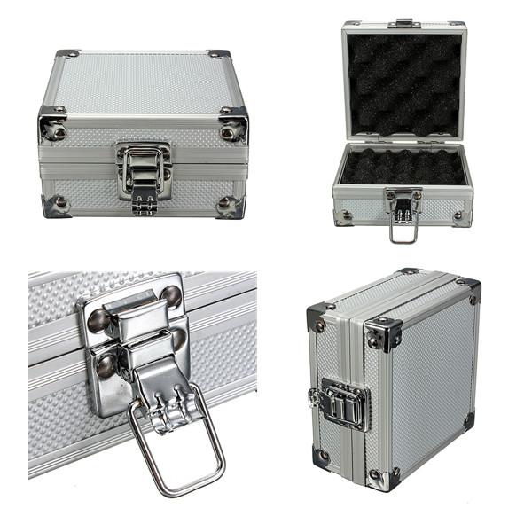 tattoo kit case portable storage lock traveling convention carry bag aluminum us. Black Bedroom Furniture Sets. Home Design Ideas