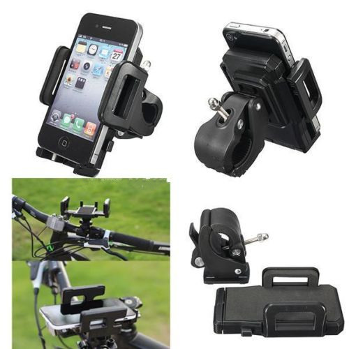 motorrad fahrrad handy halter halterung f r iphone6 5 smartphone s6 pad mp4 gps ebay. Black Bedroom Furniture Sets. Home Design Ideas