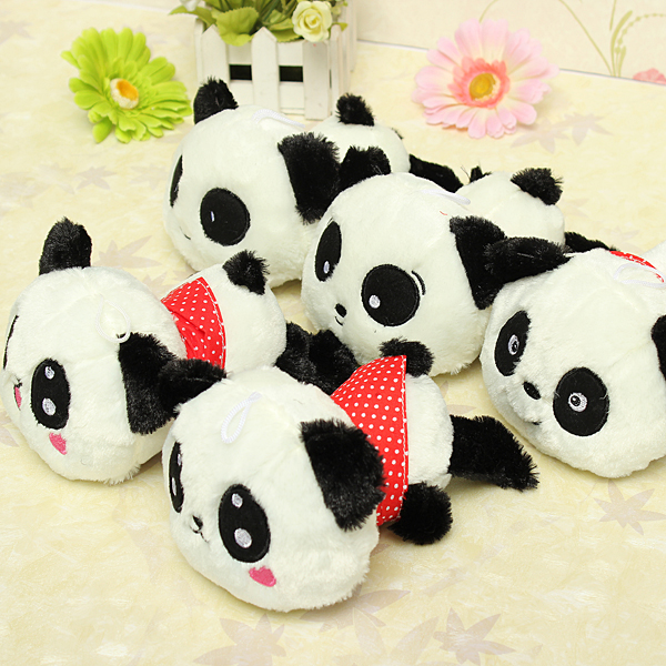 Cute Panda Pillow : Plush Doll Stuffed Animal Cute Panda Pillow Quality Bolster Kid Gift 20cm 8