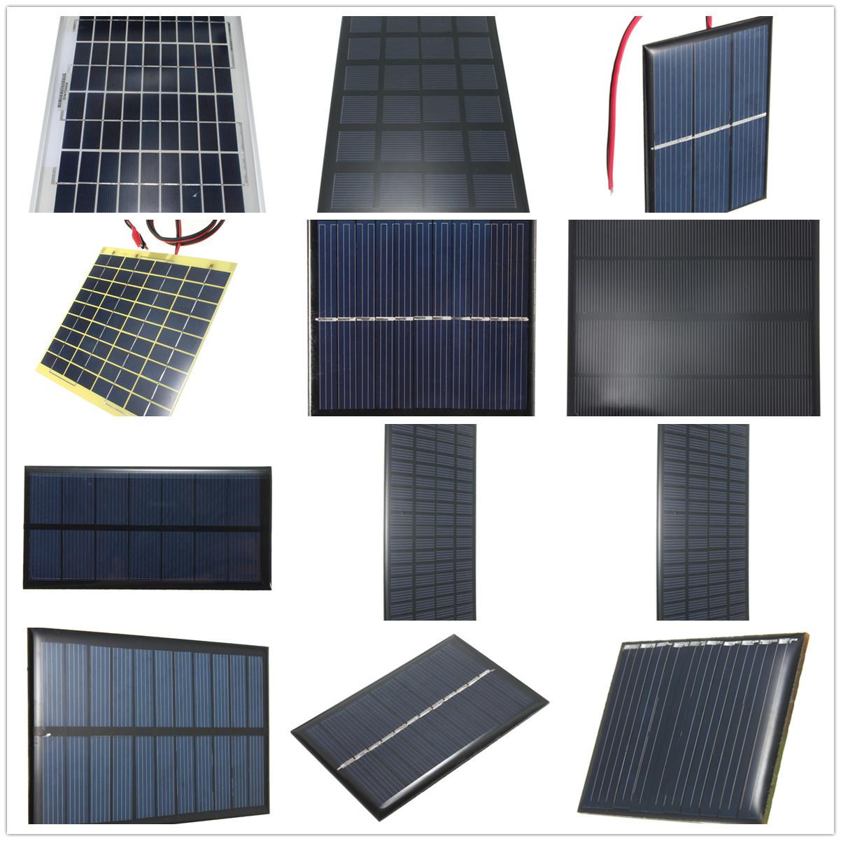 Pannello Solare Cellulare : Pannello solare fotovoltaico solar panel v w ma per