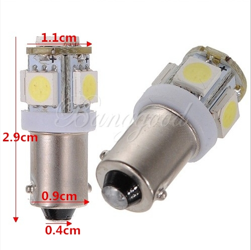 10x t11 ba9s t4w h6w 1985 363 white 5050smd 5 led car wedge side light bulb lamp ebay. Black Bedroom Furniture Sets. Home Design Ideas