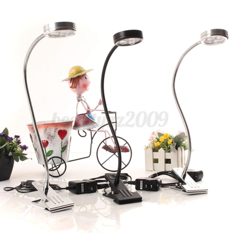 Lampada da tavolo flessibile con morsetto per scrivania for Lampada led da scrivania