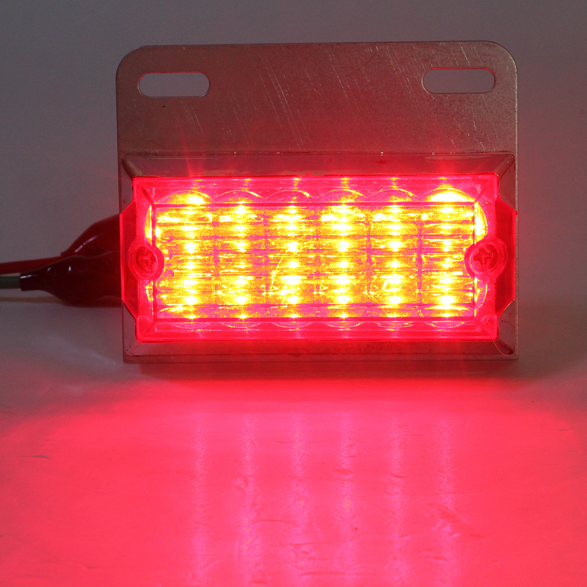 Red Truck Lamp : V red led clearance side marker lights lamps for