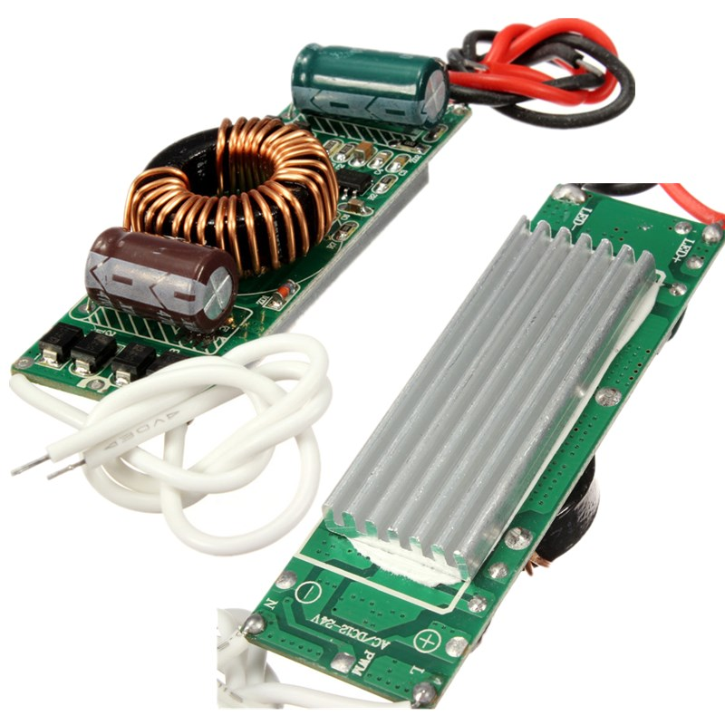 24v 30x Led Cluster: 10w/20w/30w/50w Constant Current LED Driver Supply DC9-24V