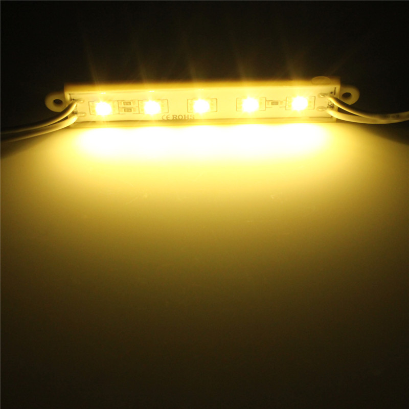 5050 led module 5 smd strip streifen leiste band lampe wasserdicht ip68 werbung ebay. Black Bedroom Furniture Sets. Home Design Ideas