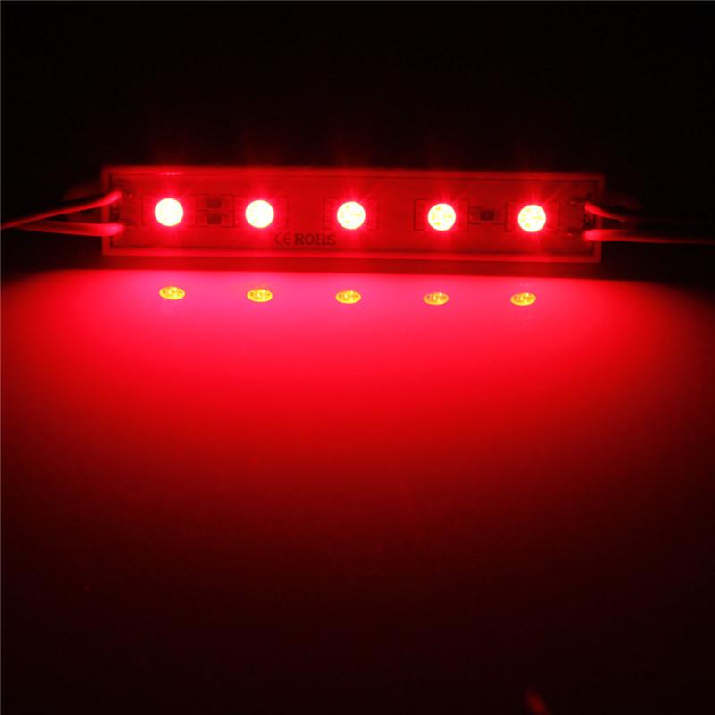 5050 led module 5 smd strip streifen leiste band lampe wasserdicht ip68 werbung ebay. Black Bedroom Furniture Sets. Home Design Ideas