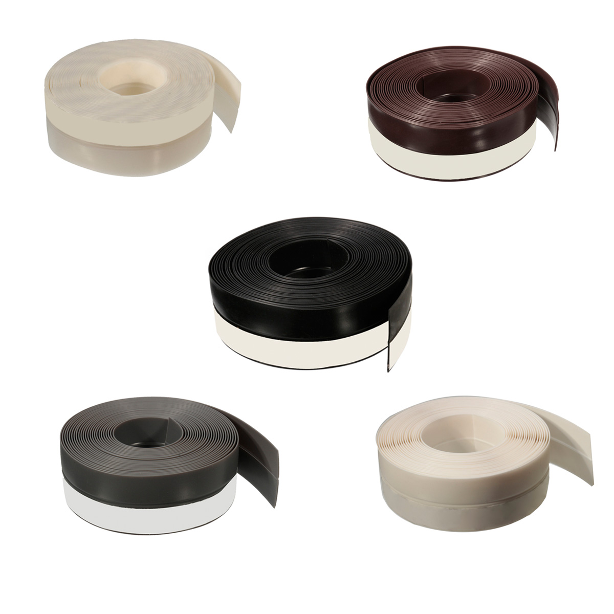 Draught excluder draft stopper sealing tape for door for Door wind stopper