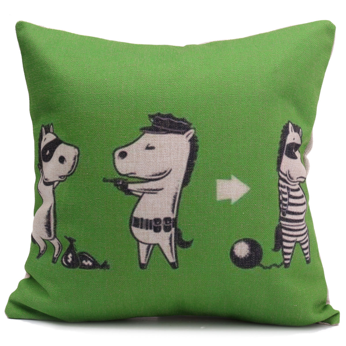 chein chat animal housse de coussin canap taie d 39 oreiller maison cushion cover ebay. Black Bedroom Furniture Sets. Home Design Ideas