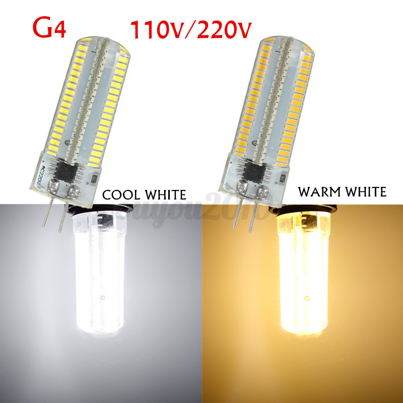 9w 3014 smd 152 led silicone ampoule bulb lampe dimmable g4 g9 e11 e12 e17 ba15d ebay. Black Bedroom Furniture Sets. Home Design Ideas