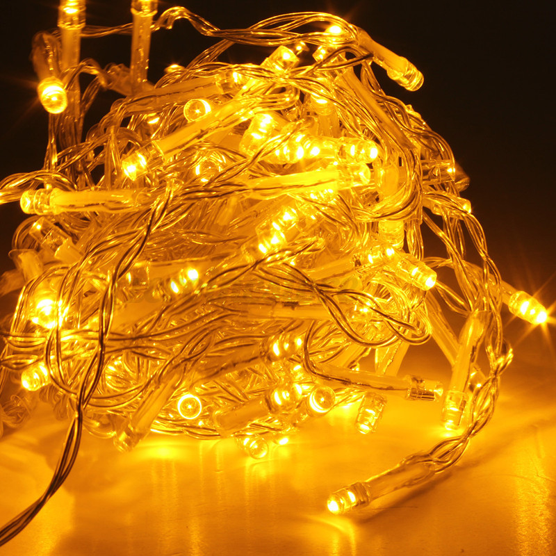 1-50M 10-500 LED Electric/Solar/Battery String Fairy Lights Xmas Wedding Party eBay