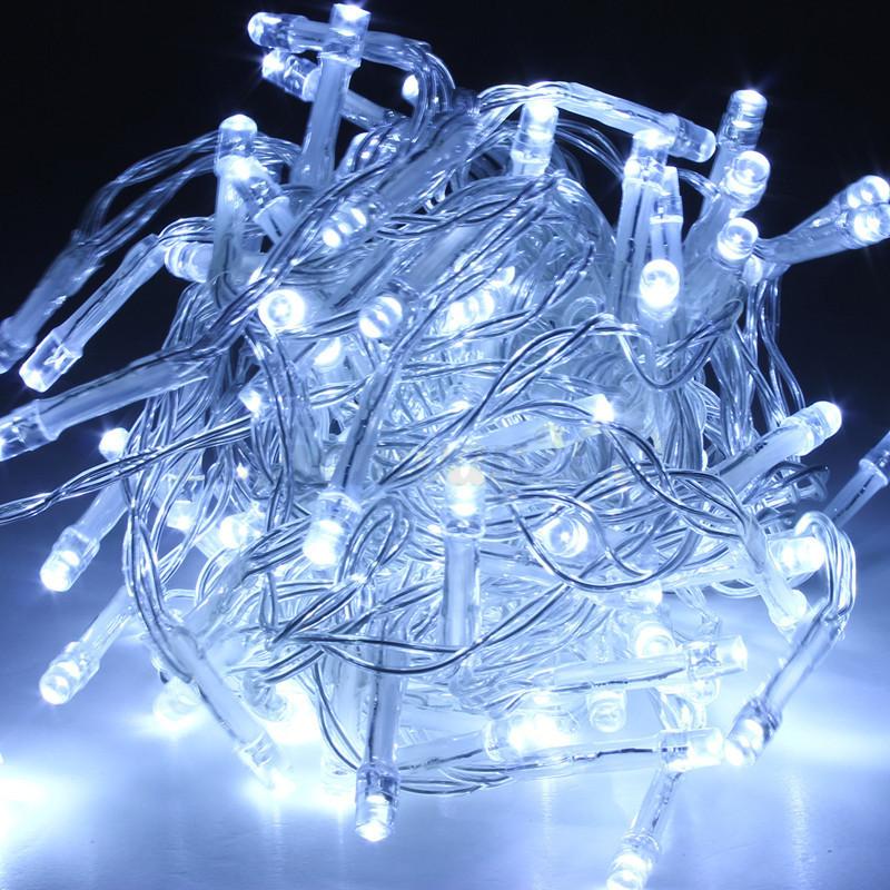 Electric Solar Battery 10 200 Led String Fairy Lights Xmas