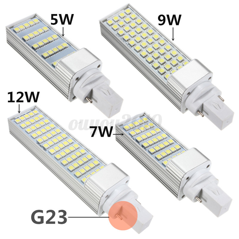 g23 5 7 9 12w 5050 smd led lampe ampoule ma s horizontal plug light ceiling bulb ebay. Black Bedroom Furniture Sets. Home Design Ideas
