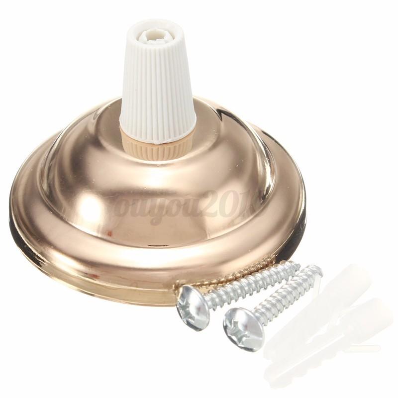 Ceiling Rose With Light Bulb Fitting : Retro edison light ceiling rose base hook plate holder fitting chandelier bulb