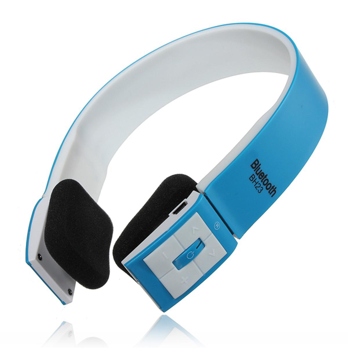 casque ecouteur bluetooth sans fil st r o main libre microphone pour iphone pc ebay. Black Bedroom Furniture Sets. Home Design Ideas
