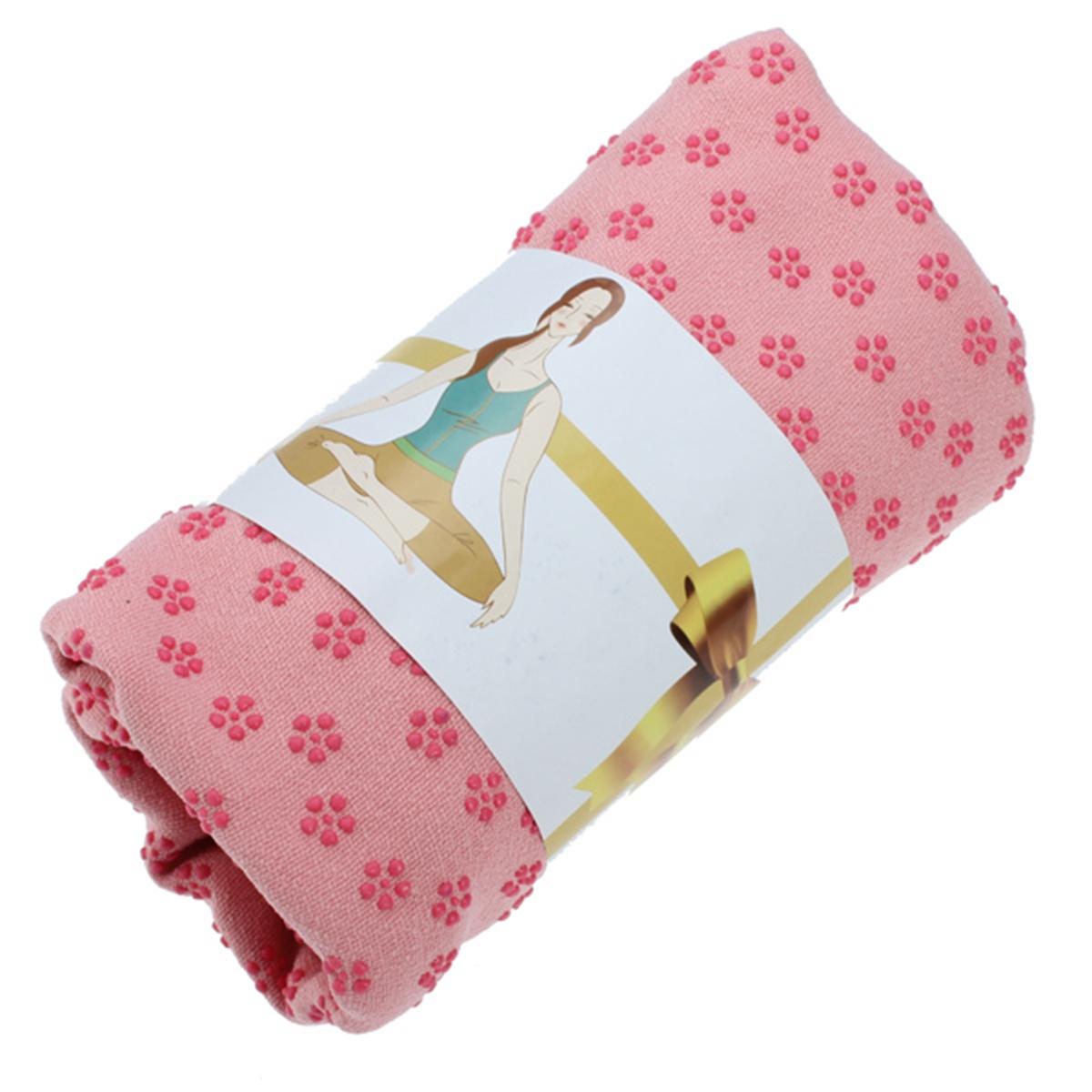 Travel Yoga Mat Or Towel: Sport Travel Exercise Yoga Mat Cover Towel Blanket Non