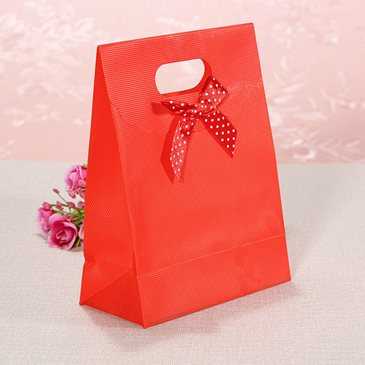 New Large Small Bowknot Beauty Flip Plastic Present Wedding Party Gift Hand Bags Ebay