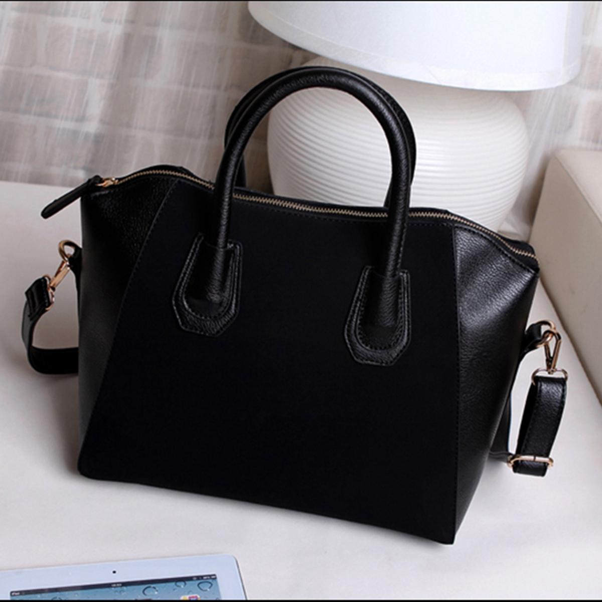 Ladies Leather Shoulder Bag Tote Messenger Crossbody Satchel Women Handbag Purse