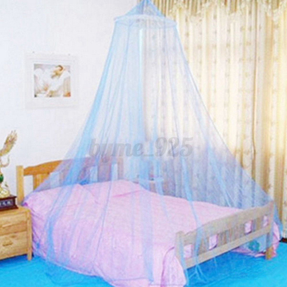 Elegant Round Insect Bed Canopy Princess Netting Curtain