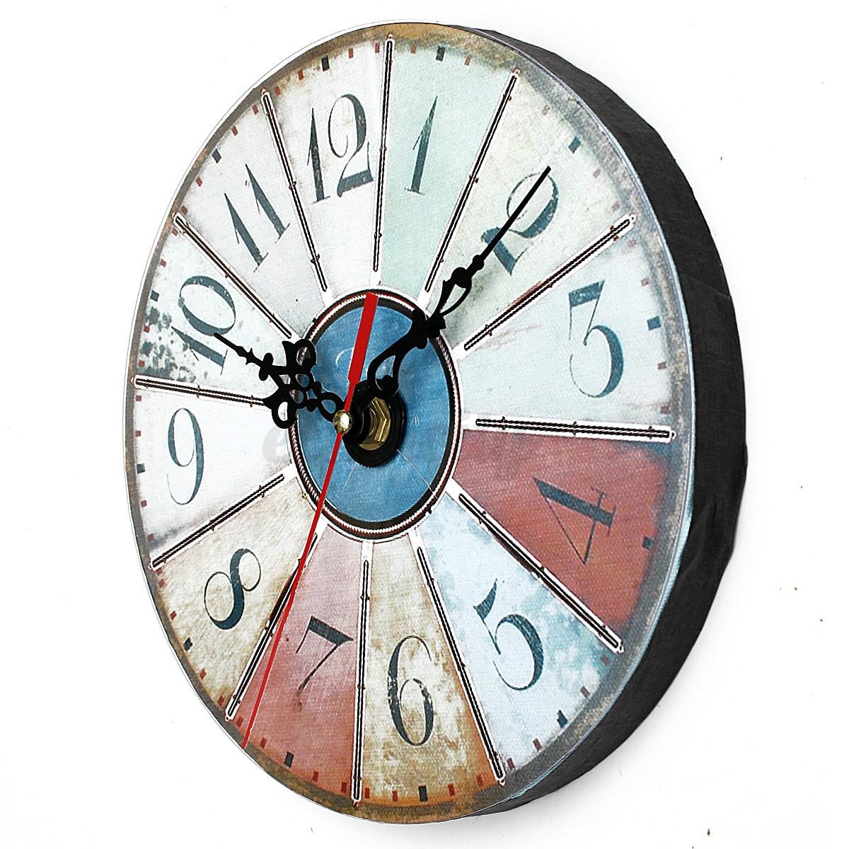 Reloj de pared acr lico retro para arte casa oficina bar - Relojes para casa ...