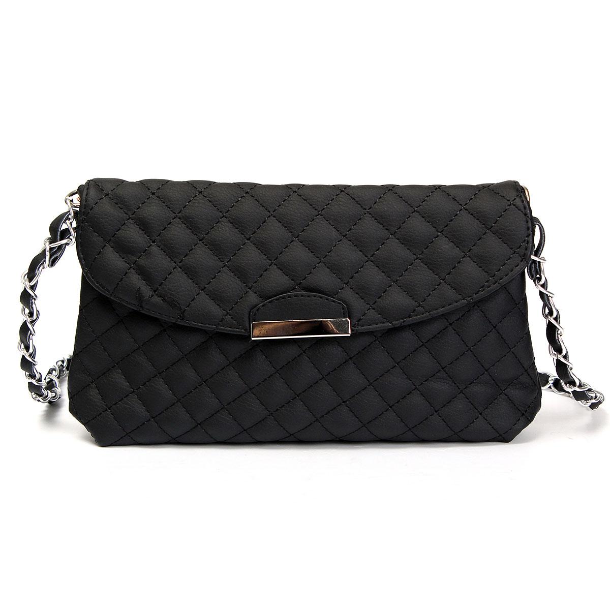 Women Lady Leather Shoulder Bag Handbag Messenger Purse Chain Clutch Tote Hot