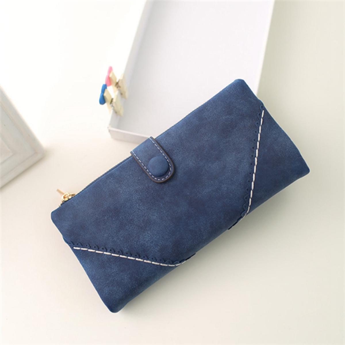 Sac portefeuille longue embrayage pu cuir porte monnaie carte pochette femme ebay - Portefeuille porte monnaie ...