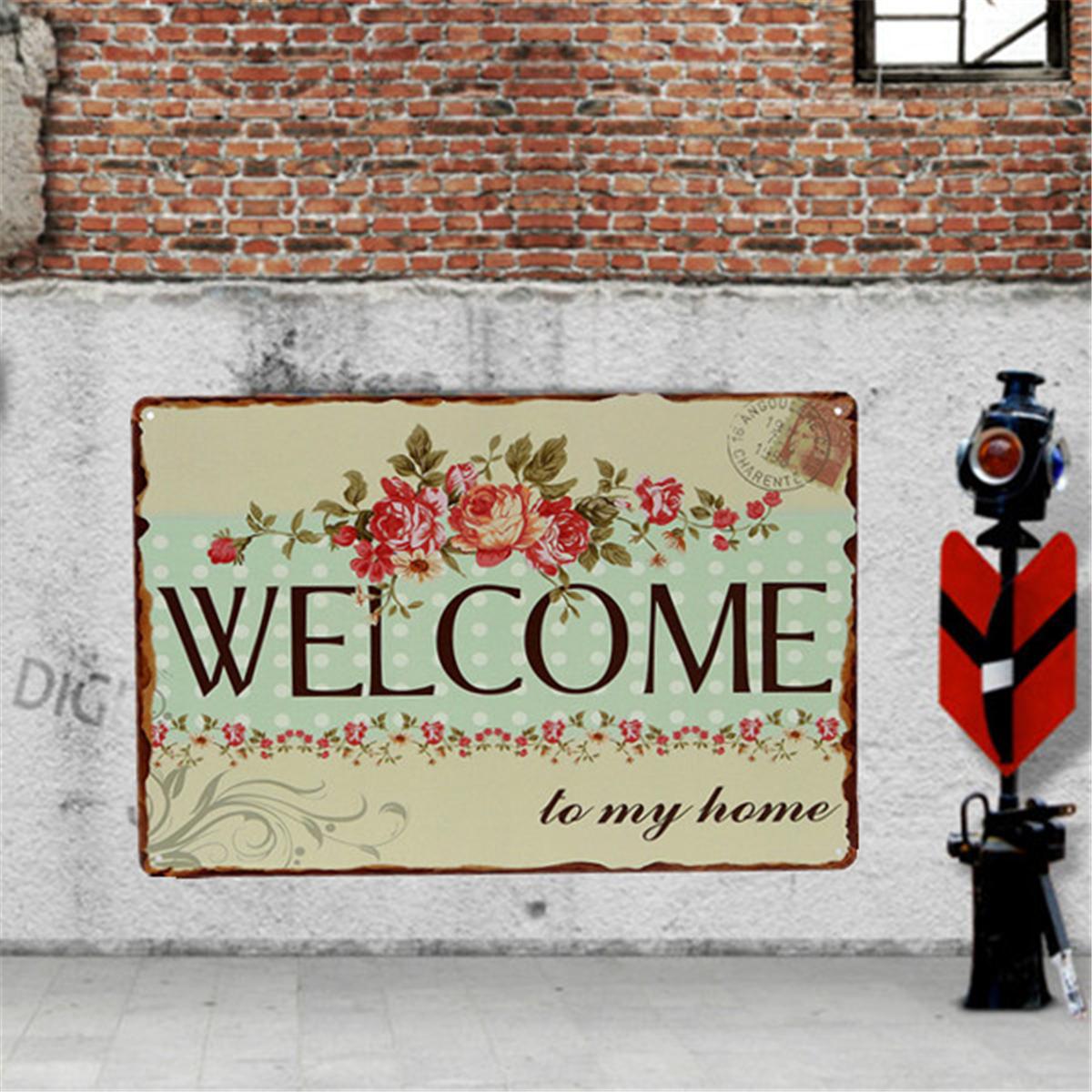 5 type vintage plaque emaill e publicitaire metal mural mur pub maison bar d cor ebay. Black Bedroom Furniture Sets. Home Design Ideas