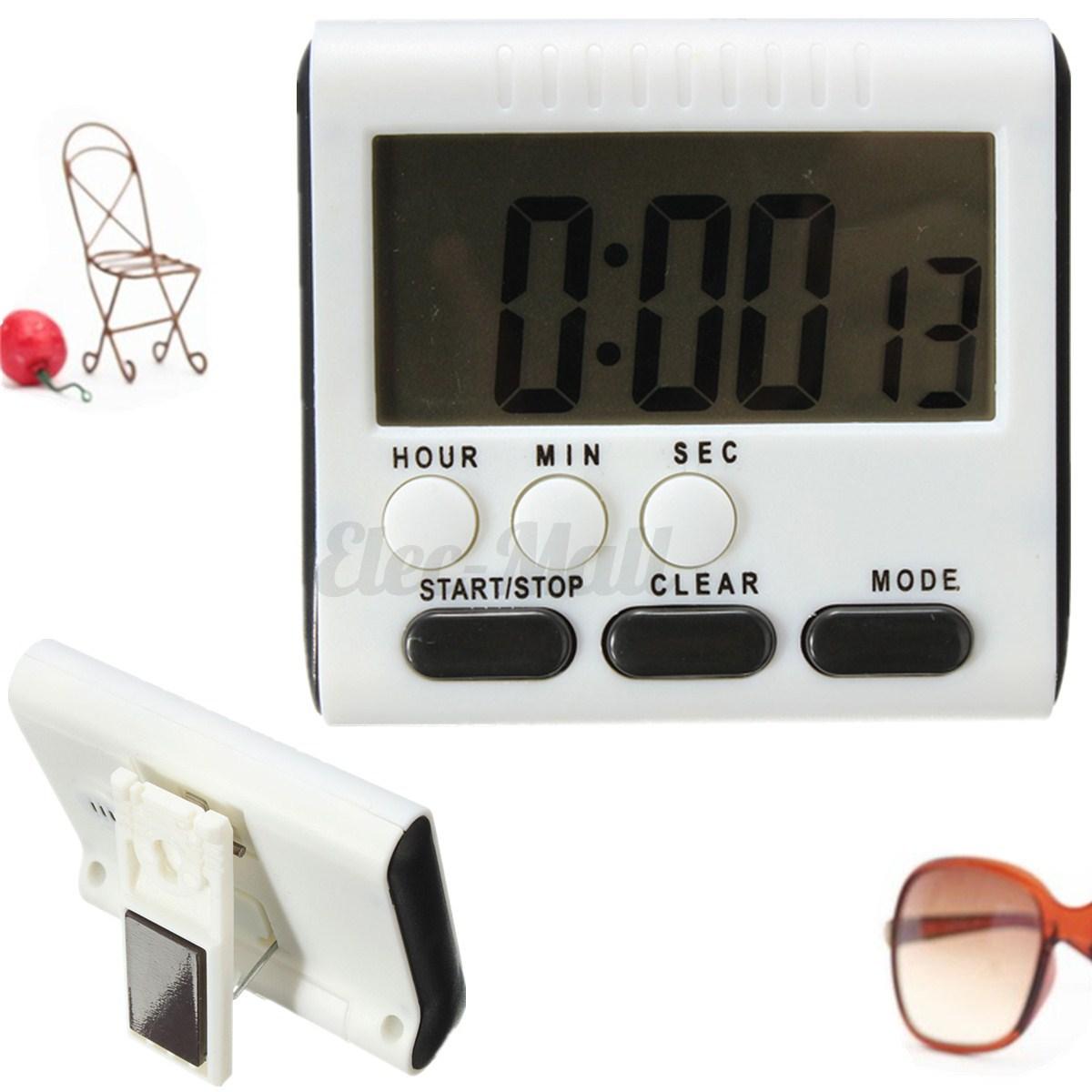 Lcd minuterie minuteur timer compteur electronique - Minuteur electronique cuisine ...