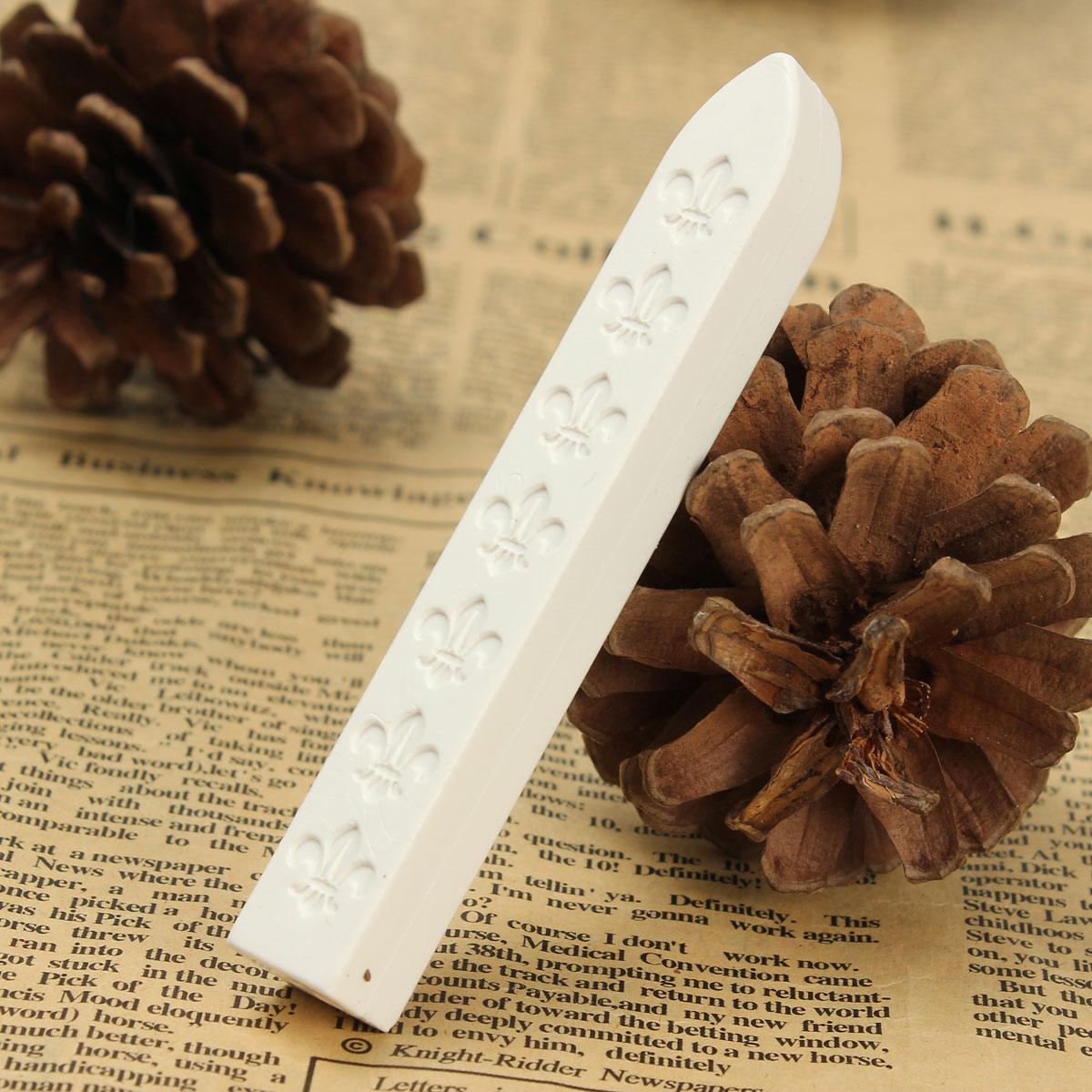 Carved sealing wax sticks stamp envelope invitations