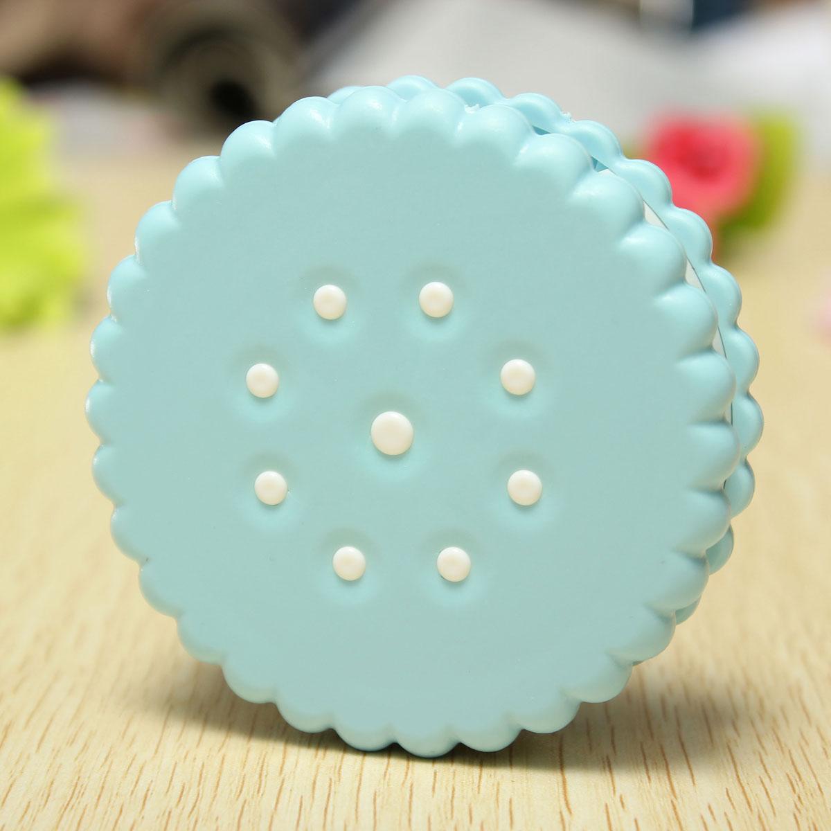 Cute Biscuit Contact Lens Case Simulating Cookie Cake Lenses Box Storage Set UK