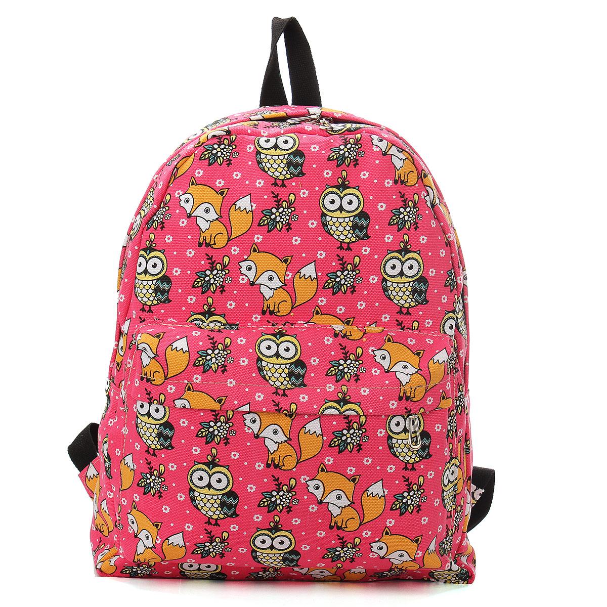 Owl Backpack For Girls - Crazy Backpacks