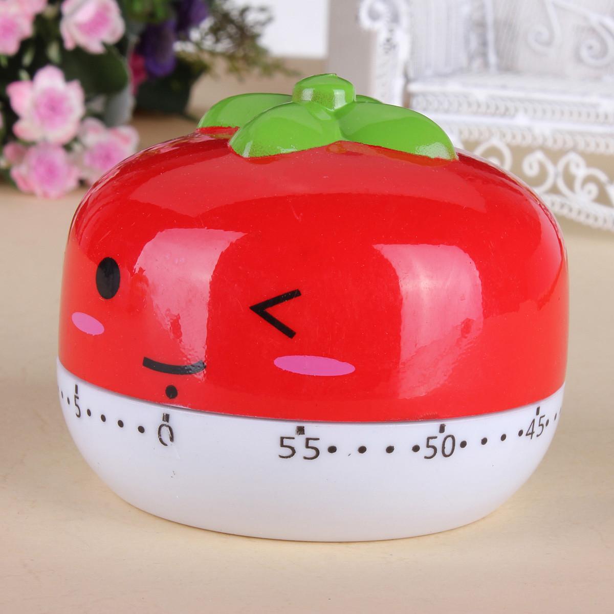 Sweet Cartoon Animal style Kitchen Cooking  Timer 60 Minutes Bake Clock Alarm