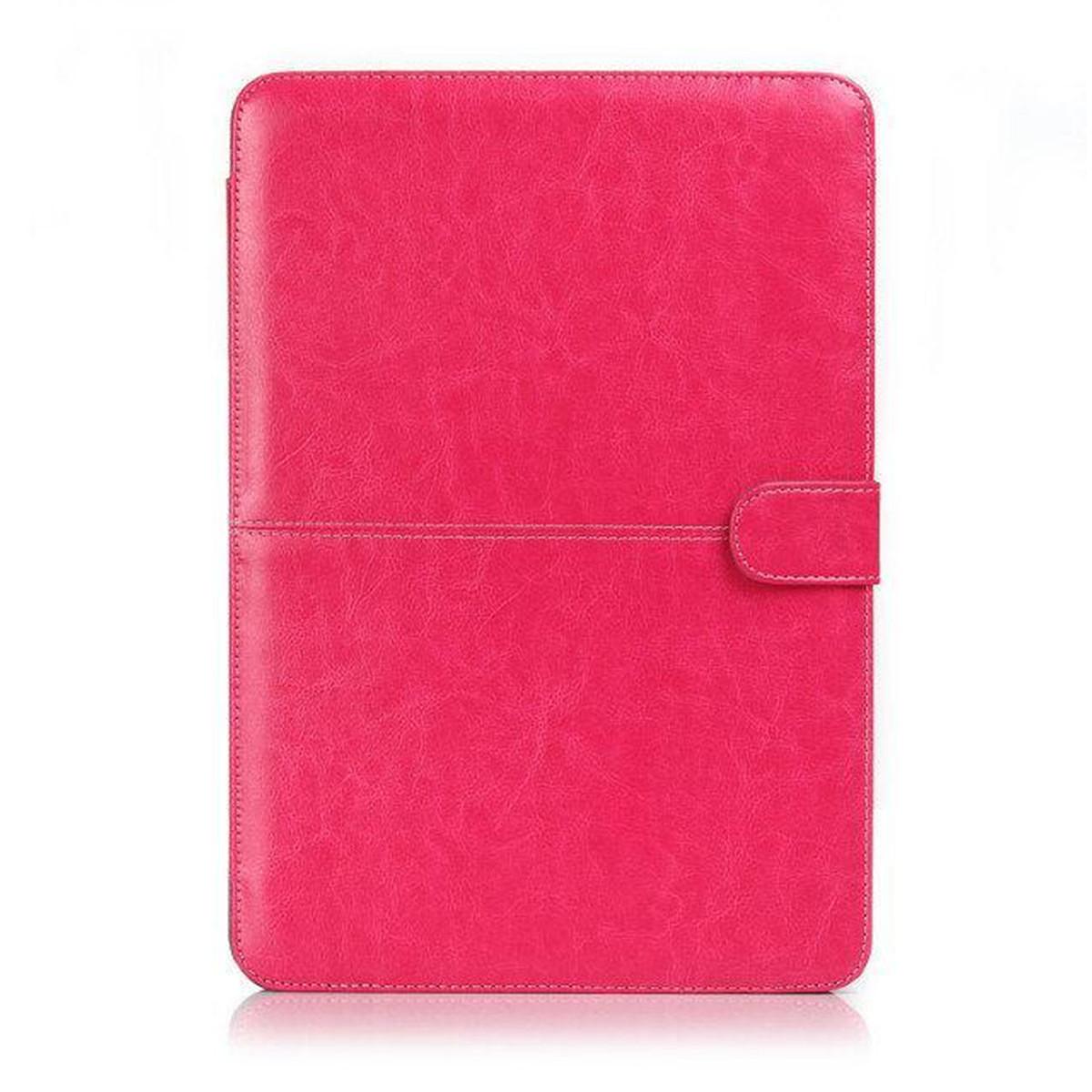 pu cuir laptop coque etui housse protecteur pr macbook air pro retina 11 13 15 ebay