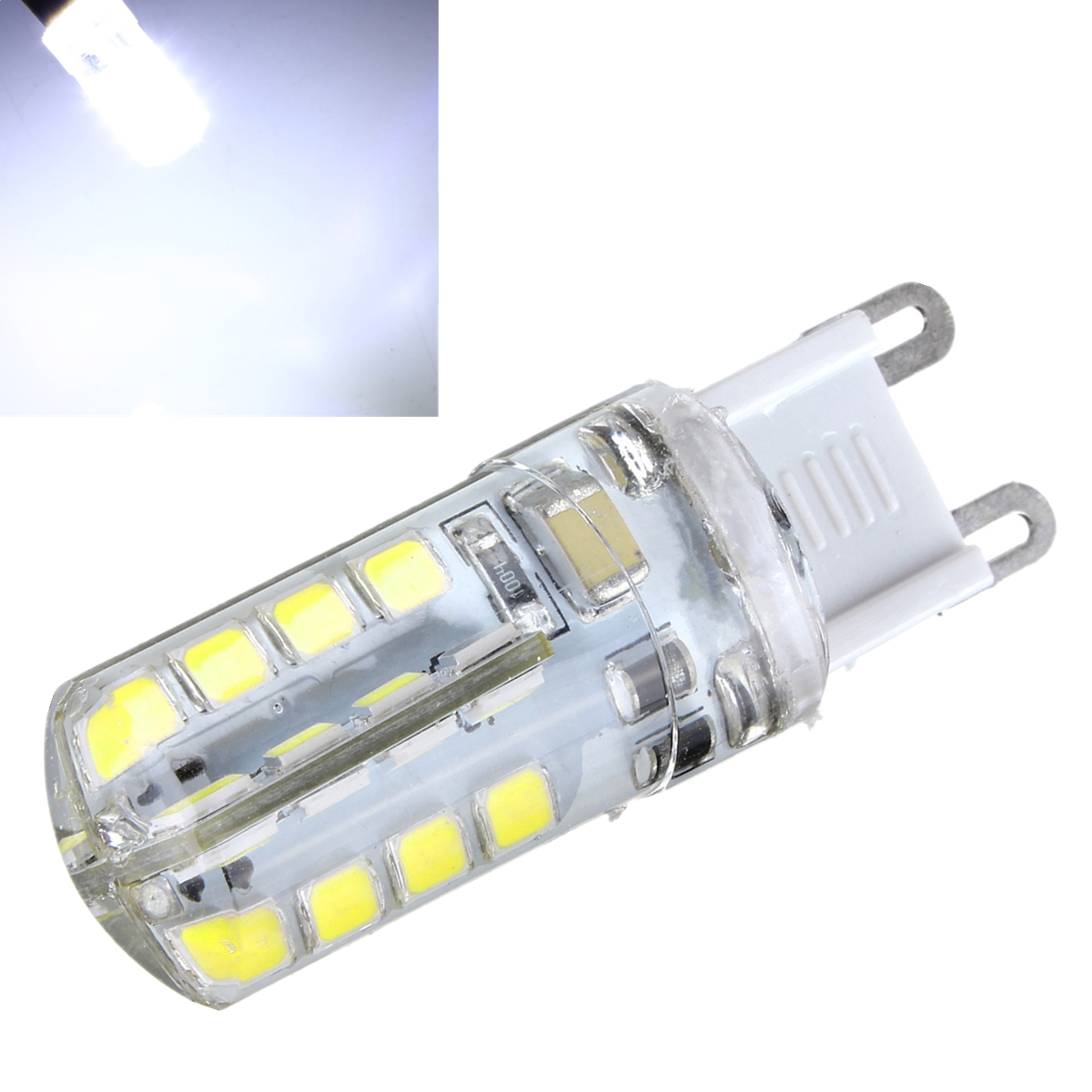 1 4x g9 5w 32 led 2835 blanc chaud ampoule lamp silicone capsule rv voiture 220v ebay. Black Bedroom Furniture Sets. Home Design Ideas