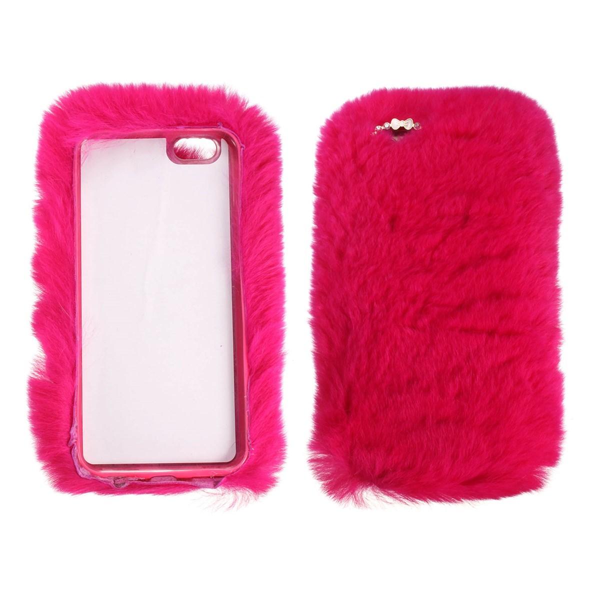New Fluffy Villi Fur Plush Wool Bling Case Cover Skin For ...