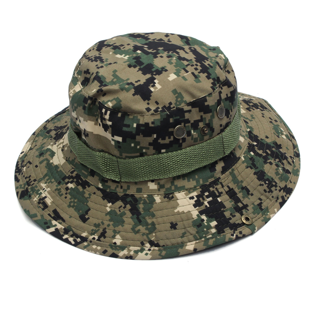 Bucket Hat Boonie Hunting Fishing Outdoor Cap Wide Brim ...