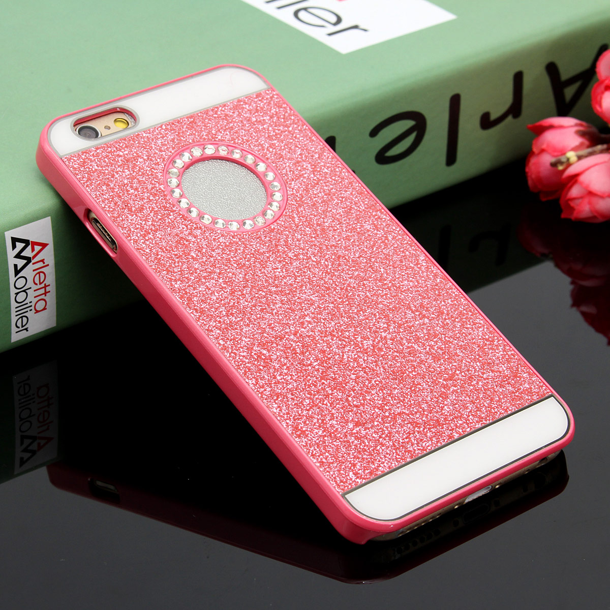 """Bling Crystal Rhinestone Diamond PC Hard Case Cover For iPhone 6 4.7""""/6 Plus 5.5"""