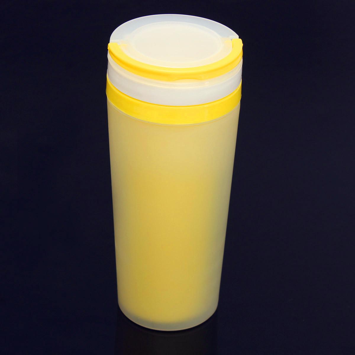 500ml double mug thermos tasse bouteille bottle cafe eau lait isotherme sport ebay. Black Bedroom Furniture Sets. Home Design Ideas