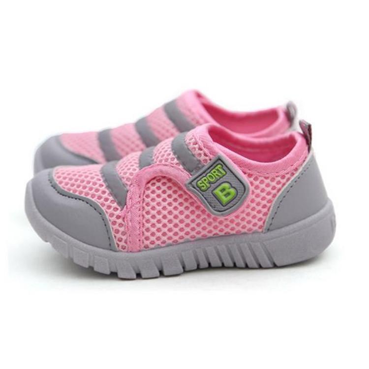 Soft Sneaker Kids Boy Girl Children Shoes Comfort Antislid Sport Breathable