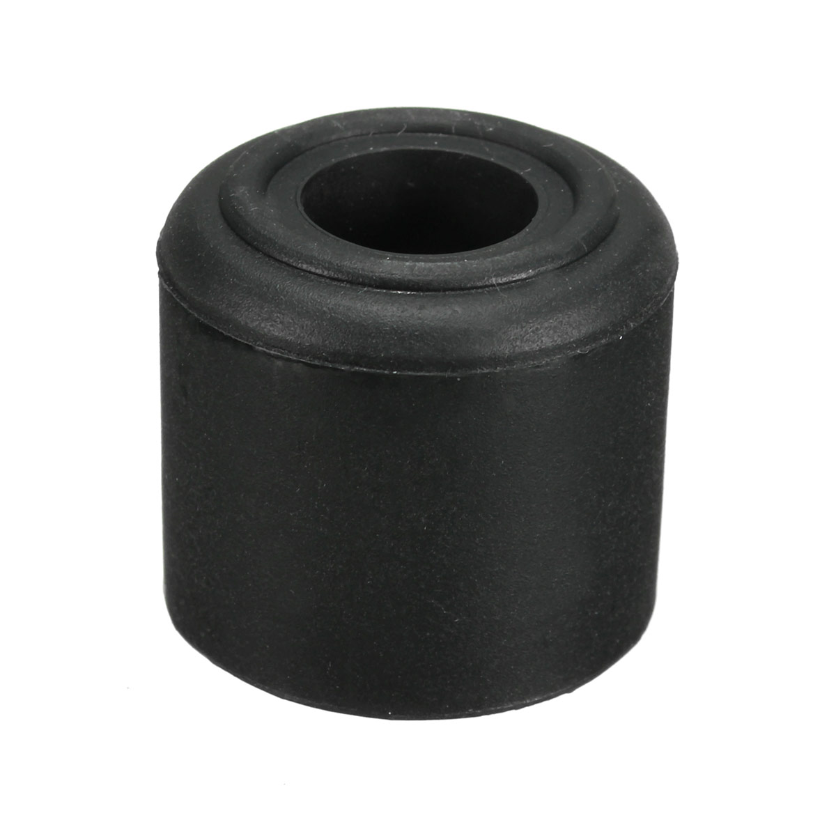 1 2pcs black white rubber door stop stopper cylinder jam wedge floor holder 28mm ebay - Door stoppers rubber ...