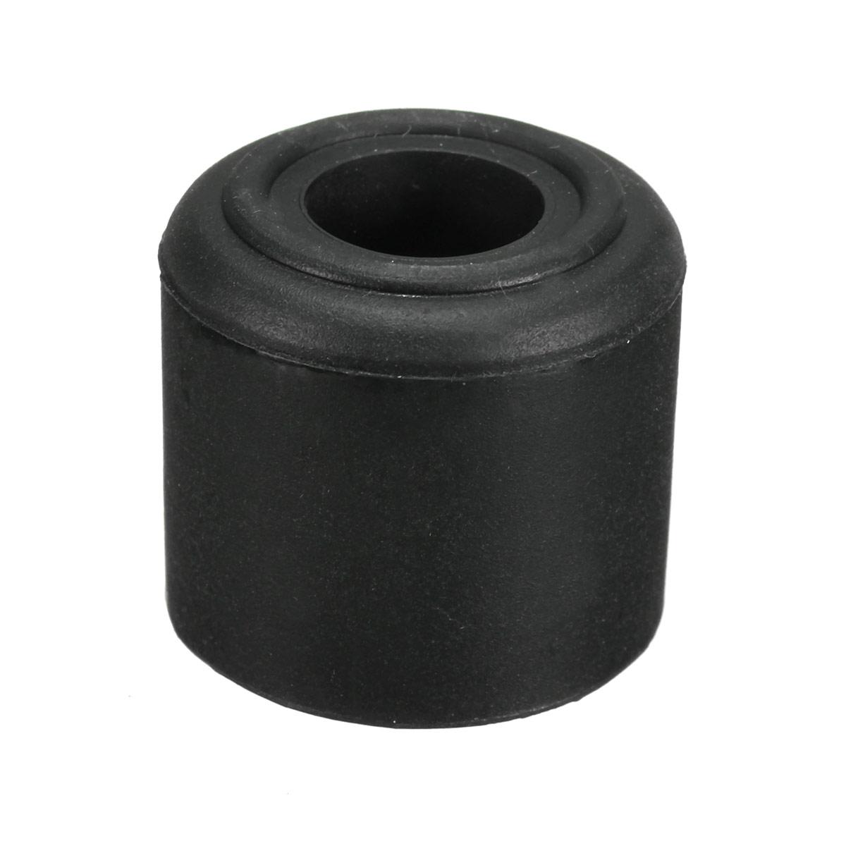 t rstopper gummipuffer vollgummi anschraubfu gummi 28mm x 25mm schwarz wei ebay. Black Bedroom Furniture Sets. Home Design Ideas