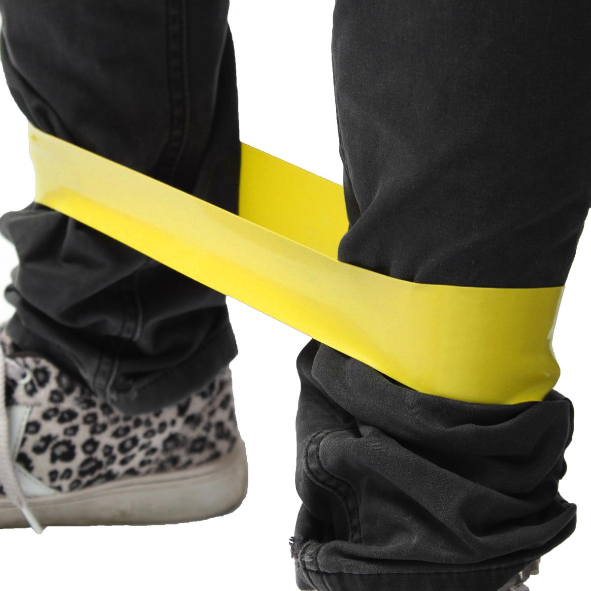 Bande r sistance tension elastique musculation yoga gym for Elastique musculation
