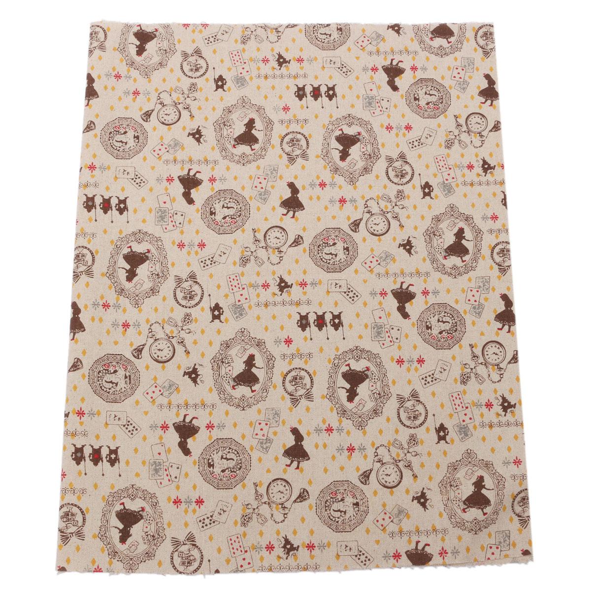 vintage hibou coupons tissu carreaux cloth patchwork. Black Bedroom Furniture Sets. Home Design Ideas