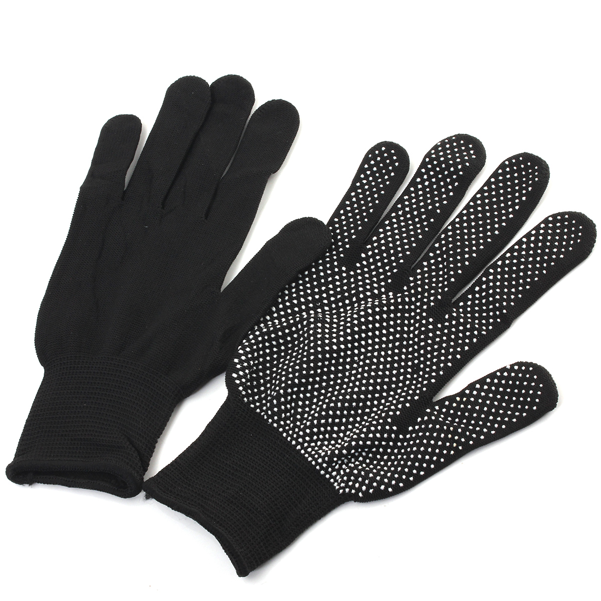 2pcs Heat Resistant Safety Gloves For Salon Hair Straightener Perm Hairdressing
