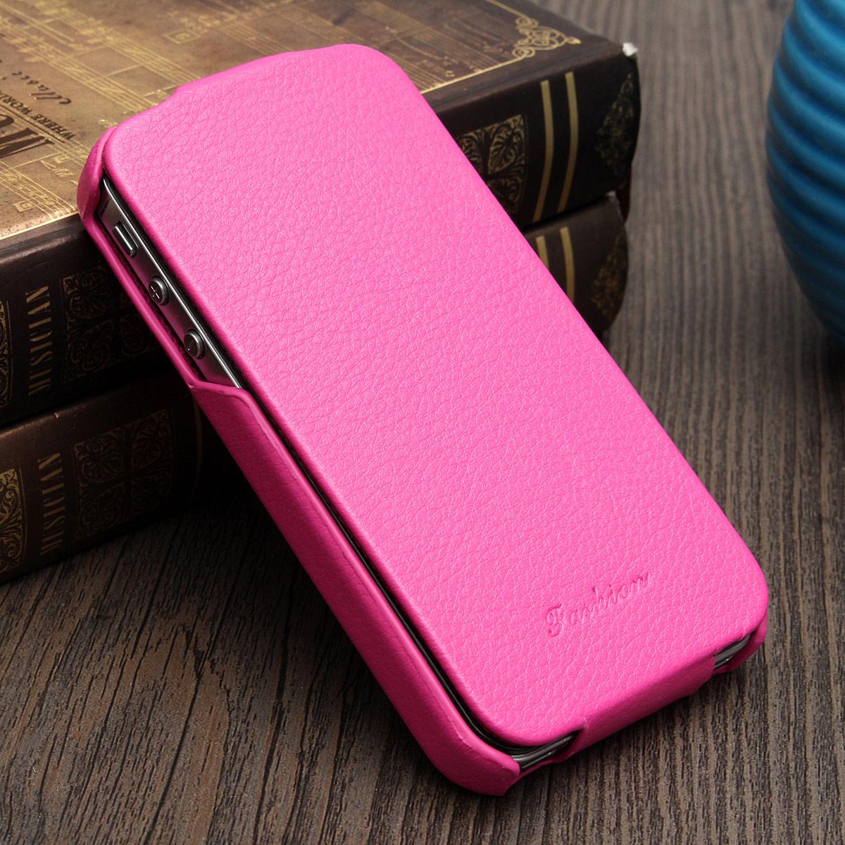 Etui A Clapet Vertical Iphone