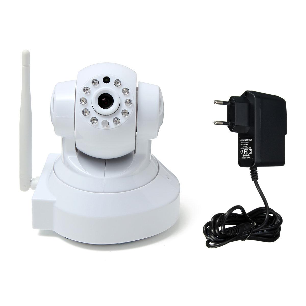 720p wifi wlan funk berwachungskamera cctv hd nachtsicht kamera netzwerkkamera. Black Bedroom Furniture Sets. Home Design Ideas