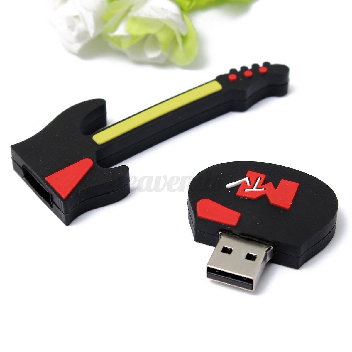 32 64 g go gb cle usb 2 0 guitar key m moire flash drive. Black Bedroom Furniture Sets. Home Design Ideas