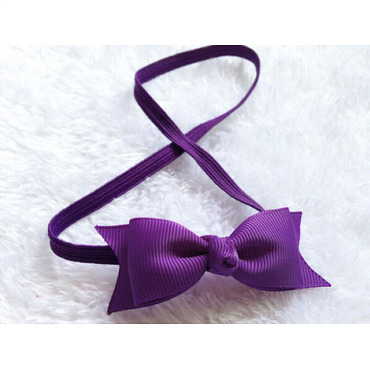 Simple b b bandeau noeud papillon enfant fille serre t te cheveux mignon ebay - Bandeau noeud bebe ...